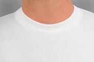 Witte v hals t shirts heren zijn super!