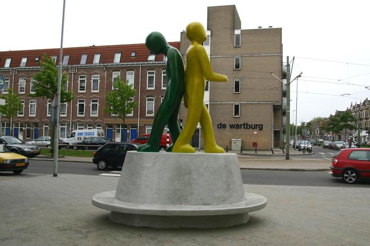 Gezocht op kunstwerken Rotterdam