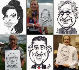Karikatuur tekenaar inhuren